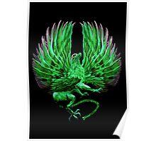 The Griffin (Green Vengeance Logo)  Poster