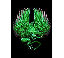 The Griffin (Green Vengeance Logo)  Photographic Print