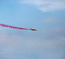 Red Arrows At Airbourne 2015 Eastbourne uk by Keith Larby