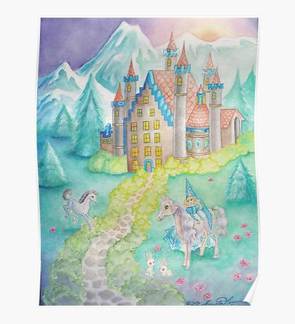 The Princess and the Castle Poster