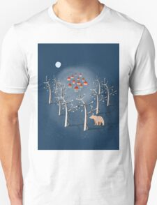 Animal's Nightlife - Bear In Forest T-Shirt