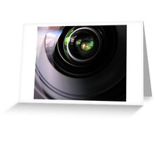 lens to lens Greeting Card