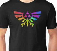 The Legend of Zelda Triforce - Splatter Unisex T-Shirt