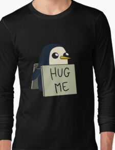 Adventure Time - Hug Me Penguin Long Sleeve T-Shirt
