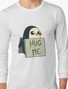 Adventure Time - Hug Me Penguin Long Sleeve T-Shirt