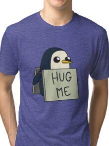 Adventure Time - Hug Me Penguin Tri-blend T-Shirt