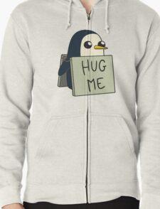 Adventure Time - Hug Me Penguin Zipped Hoodie