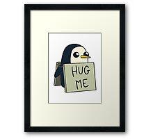 Adventure Time - Hug Me Penguin Framed Print
