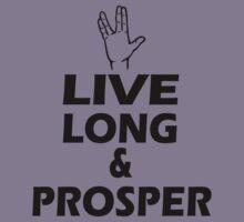 Live Long and Prosper Kids Tee