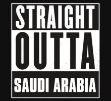 Straight outta Saudi Arabia! by tsekbek