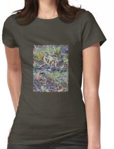 Little Blue Wren Womens Fitted T-Shirt