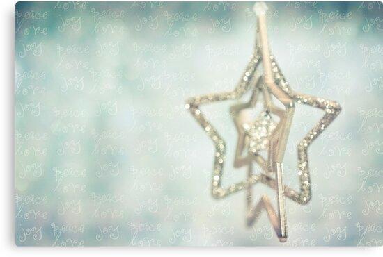 peace * love * joy by Adriana Glackin