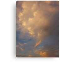 sky of clouds Canvas Print