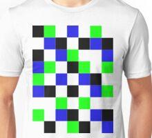 Blocks - Blue Unisex T-Shirt