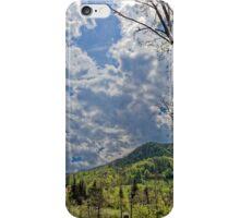 Countryside hills Rau Sadului iPhone Case/Skin