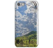 Countryside hills Rau Sadului iPhone Case/Skin