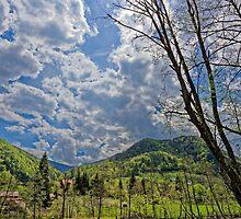 Countryside hills Rau Sadului by Adrian Bud