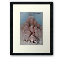 Egyptian Toes © Vicki Ferrari Framed Print