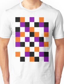 Blocks - Purple Unisex T-Shirt