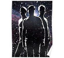 Star Trek reboot McCoy, Spock and Kirk Poster