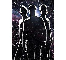 Star Trek reboot McCoy, Spock and Kirk Photographic Print