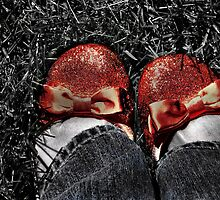 The slippers -- yes, the slippers! by Jamie Lee