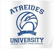 Atreides University [Blue] Poster