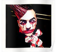 Portrait of a Clown II Poster