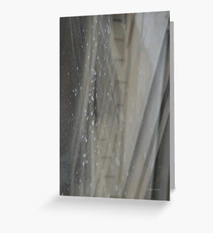 Rain Soft Rain Hard Rain © Vicki Ferrari Greeting Card