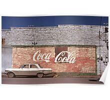 Coca-Cola, Fayetteville, AK Poster