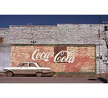 Coca-Cola, Fayetteville, AK Photographic Print