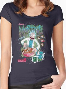 Mortyo's Spacey Cereals Women's Fitted Scoop T-Shirt