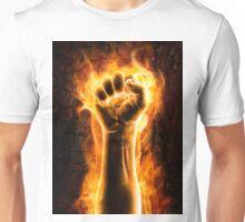 Fist of fire Unisex T-Shirt