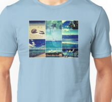 Starry Starry Caribbean Night Collage Unisex T-Shirt