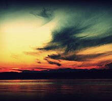 I envy people who can just look at a sunset by Joshua Greiner
