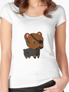 My little Fury Women's Fitted Scoop T-Shirt