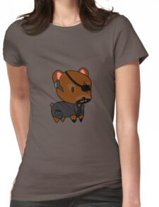 My little Fury Womens Fitted T-Shirt