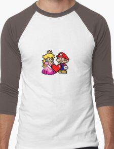 PIXEL LOVE. Men's Baseball ¾ T-Shirt