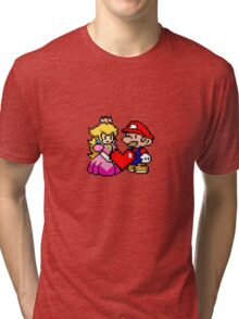 PIXEL LOVE. Tri-blend T-Shirt