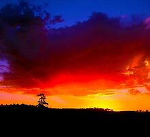 Red Horizon - Western Australia by AussieChris