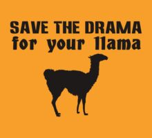 Save the drama for your llama geek funny nerd by antoharjo
