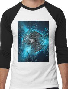 Disco planet explosion Men's Baseball ¾ T-Shirt