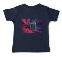 Tardis of the 3rd and 4th Baby Tee