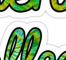 Siena College Tie Dye Sticker