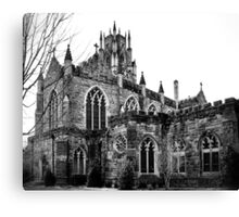 Gothic in Black and White Canvas Print