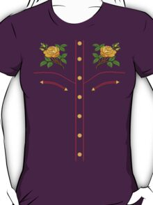 Texas Rose Western Style T-Shirt T-Shirt