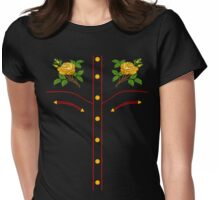 Texas Rose Western Style T-Shirt Womens Fitted T-Shirt