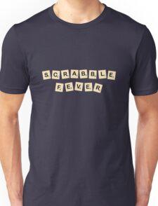 Scrabble fever geek funny nerd Unisex T-Shirt
