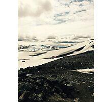 Icelandic landscape Photographic Print