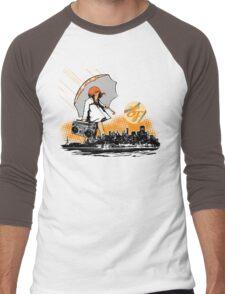 It's Raining Game in SF Men's Baseball ¾ T-Shirt